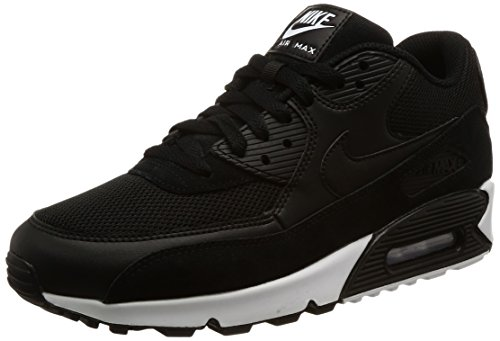 Black Black Zapatillas Essential 90 Max 077 Air Negro White Nike Hombre 4xqPZpyTwU
