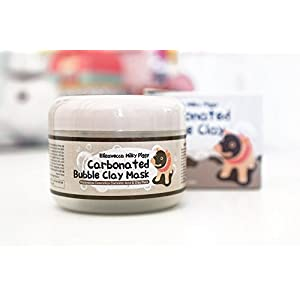 [Elizavecca] Milky Piggy Carbonated Bubble Clay Mask with Oil Blotting Paper, High Quality Mud Charcoal Deep Cleansing for Treatment Face Acne Pores Blackhead Good for All Skin Type