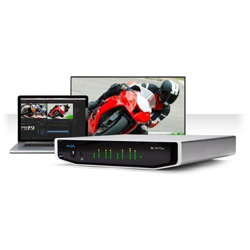 Dual Link Sdi Converter - AJA Io 4K Plus Professional Video I/O with Thunderbolt 3 Performance