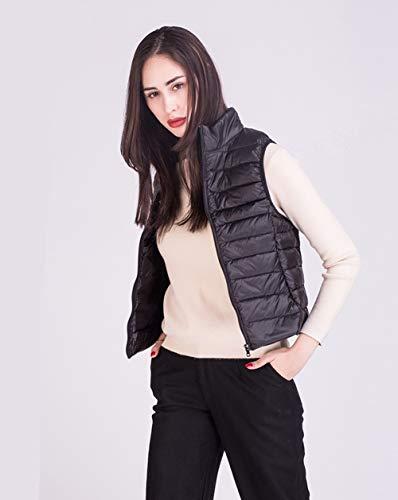 Manche Col Automne Veste Femme Manteau Jacket Zippée Ultra Hiver 0UOqnH