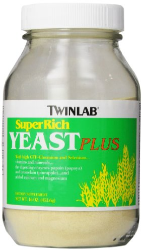 - Twinlab Super Rich Yeast Plus, 16 Ounces (Pack of 2)