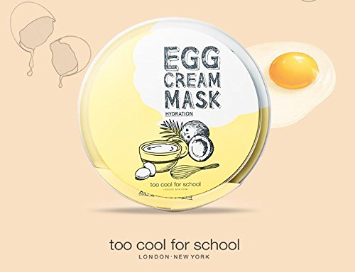 too cool for school Egg Cream Mask 5ea // Made in Korea by Beautyshop