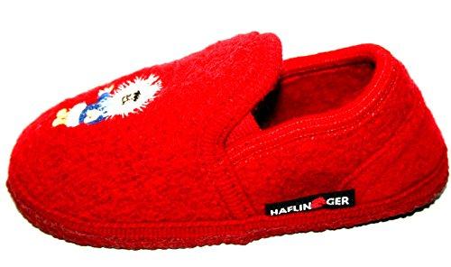 Haflinger , Chaussons pour fille Rouge Rouge 25