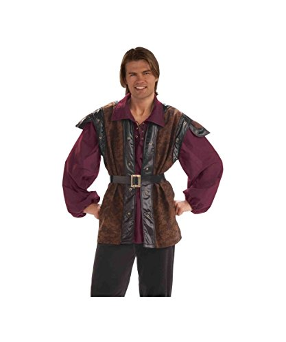 Medieval Mercenary Adult Costume - Standard - Adult Medieval Mercenary Costumes
