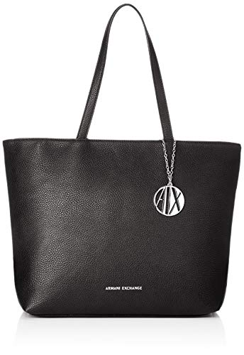 A|X Armani Exchange Zip Top Shoulder Bag, nero - black 54