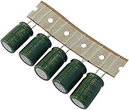 10x Elko Kondensator Radial 1000µf 25v 105 C Ce1e102mzuanc 1000uf Beleuchtung