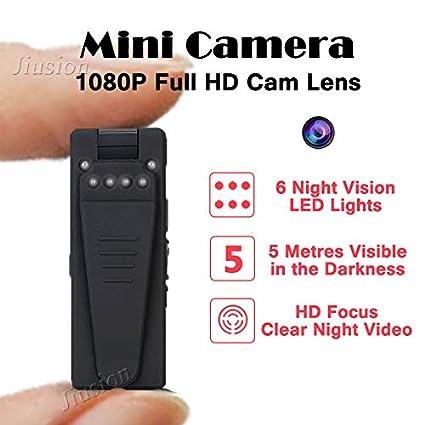Amazon.com : 5m Infrared Night Vision Webcam 1080p Mini Camera hd Camcorder with Motion Sensor Video Voice Audio Recorder Micro Secret cam : Camera & Photo