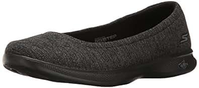 Skechers Womens Go Step Lite- Evoke Go Step Lite- Evoke Black Size: 6