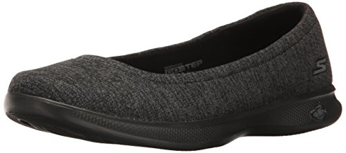 Athletic Closeout Womens Shoes (Skechers Performance Women's Go Step Lite-Evoke Walking Shoe,Black/Gray,6.5 M US)