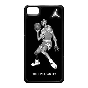 Michael Air Jordan I Believe I Can Fly Blackberry Z10 Best Durable Case Cover