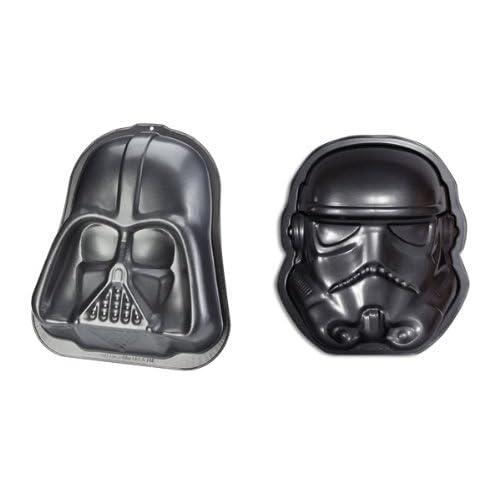 "Star Wars - Merchandise - Darth Vader & Stormtrooper Baking Pan / Dish / Tray Set (9"" x 11"" x 2"")"
