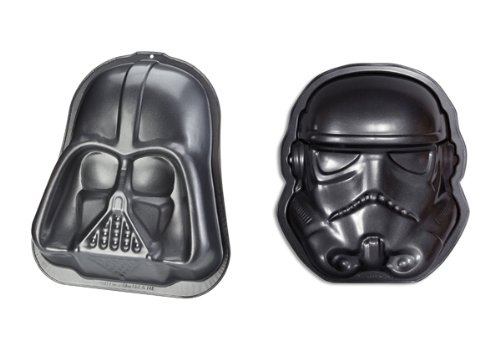 Star Wars - Merchandise - Darth Vader & Stormtrooper Baking Pan / Dish / Tray Set (9