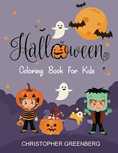 Halloween Craft For Toddlers Preschoolers (Halloween Coloring Book for Kids: A Happy Halloween for Toddlers, Preschoolers and)