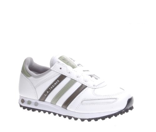 J Adidas Blanco Trainer Niños La Zapatillas Unisex 8zAzwErx