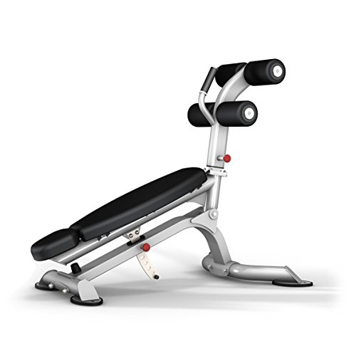 Bodykore Commercial Adjustable Ab Crunch Bench- 5 Angle Adjustments- Club Series (1000lb Rated)