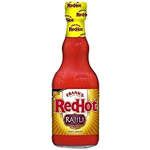 Franks Redhot Rajili Asian Sweet Ginger Sauce, 12 Fluid Ounce -- 12 per case.