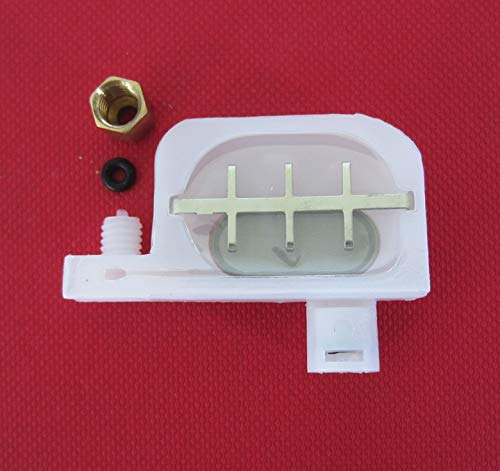 (Printer Parts 10 pcs Printer Inkjet Damper with o ring and copper screw for Eps0n R1800 1250 R1900 1390 1290 Printer)