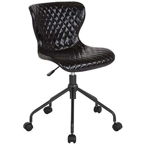 MFO Oxford Collection Task Chair in Black Vinyl