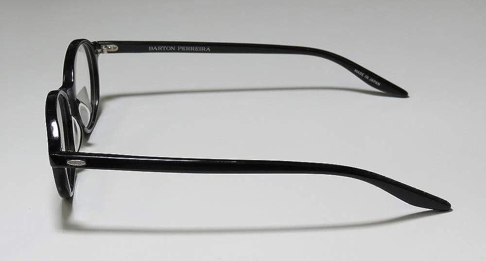 Barton Perreira Hanson Eyeglasses Frames 45-20-145 Black Unisex