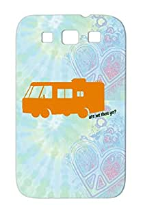 RV Kids Orange Funny Miscellaneous Bronze Are We There Yet Case Cover For Sumsang Galaxy S3