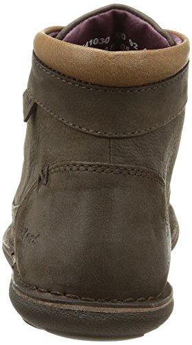 Kickers Swiforrys - Botas hombre marrón - Marron (Marron Foncé)