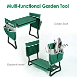 TomCare Upgraded Garden Kneeler Seat Widen Soft