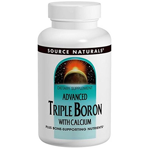 Cheap SOURCE NATURALS Advanced Triple Boron with Calcium Capsule, 240 Count