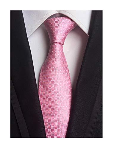- Men Unisex Women Blush Pink Polka Dot Ties Unique Engagement Necktie Wedding Day