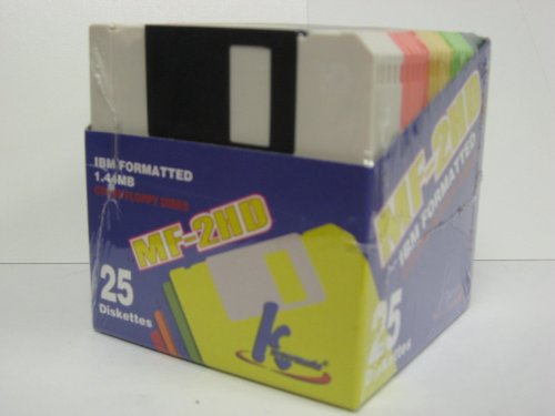 Discontinued by Manufacturer KHypermedia 3.5 1.44 MB PC-Formatted Diskettes Black,10-Pack