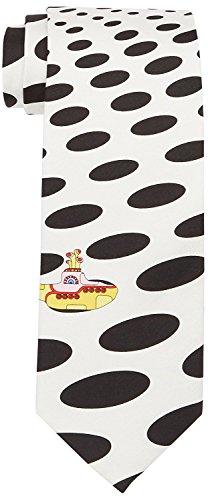5c27458680c1 Beatles Necktie Yellow Submarine Silk Tie Sea of Holes