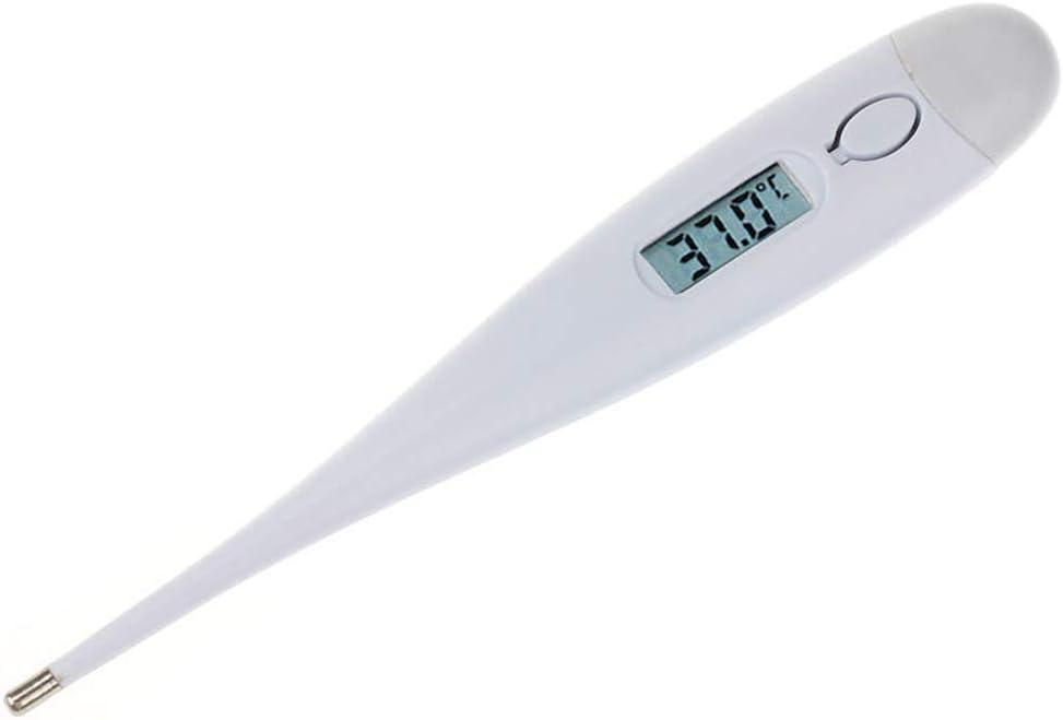 Adultos beb/és term/ómetro de Fiebre de Lectura r/ápida de 20 Segundos para ni/ños Term/ómetro m/édico Digital para el Cuerpo basal