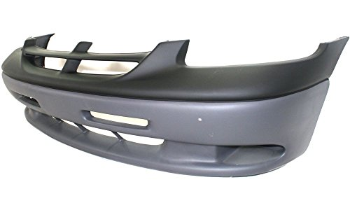 New Evan-Fischer EVA17872021636 Front BUMPER COVER Primed top; Textured bottom Direct Fit OE REPLACEMENT for 1996-2000 Dodge Caravan 1996-2000 Dodge Grand Caravan *Replaces Partslink CH1000280