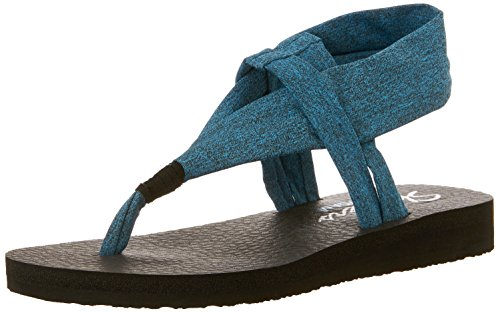 Skechers Sandali Kicks nbsp;Studio Meditation Teal Donna r0qrFH4