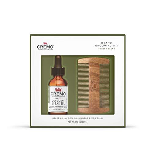 Cremo Beard Kit: Forest Oil & Beard Comb