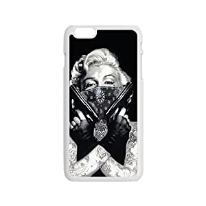 Marilyn guns Case Cover For iPhone 6 Case