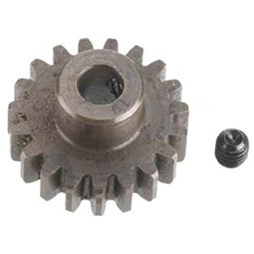 Robinson Racing 1219 Extra Hard High Carbon Steel Motor Pinion Gear, 5Mm Bore, 1.0 Mod Pitch, 19 Tooth