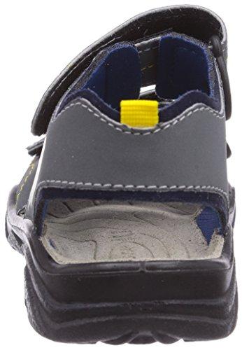 Ricosta Surf - sandalias abiertas de material sintético niño azul - Blau (graphit/ozean 180)
