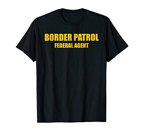 Border Patrol Federal T-shirt Agent Guard Uniform Top Tee
