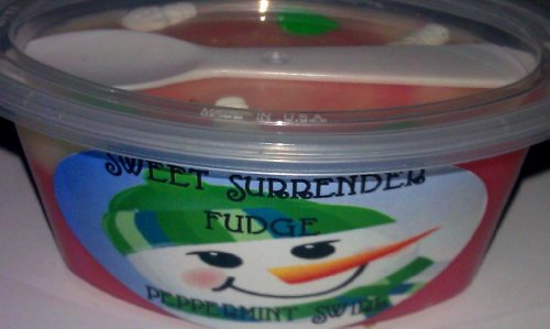 Sweet Surrender Fudge, Peppermint Swirl Fudge Fixx - Snowman