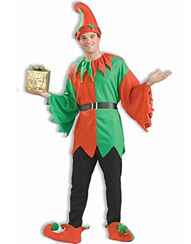 Forum Novelties Men's Unisex Elf Costume, Multi, One -