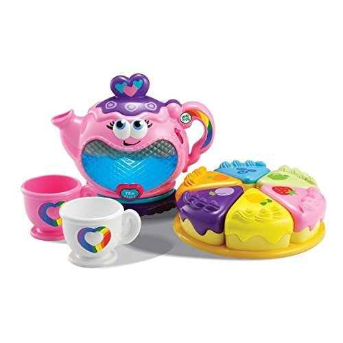 Toys Set NEW & SEALED  LeapFrog Musical Rainbow Tea Party Role Play with 10 Play Pieces by Prathai