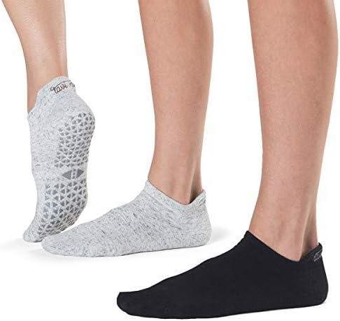 Grip Barre Pilates Yoga Socks Tavi Noir Women/'s Jess Non-Slip Socks Dance