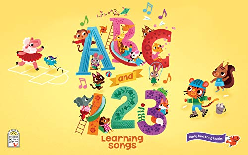 ABC & 123 Learning Songs: Interactive Children's Sound Book (11 Button Sound) (Early Bird Song)
