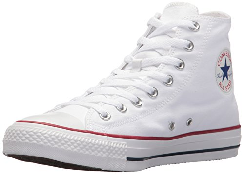 Converse  Chuck Taylor All Star High Top Shoe, Optical White, 8.5 M US (Shoes Converse All White)
