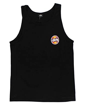6923dcacf3b9f8 Amazon.com  Stussy - Mens Reggae Surf Dot Tank-Top  Clothing