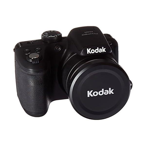 "41SpTPRGNbL. SS600  - Kodak PIXPRO Astro Zoom AZ401-BK 16MP Digital Camera with 40X Optical Zoom and 3"" LCD (Black)"