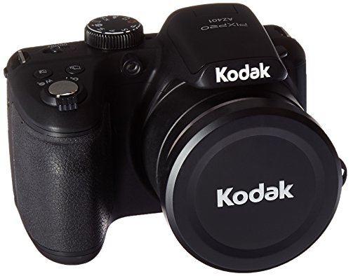Kodak AZ401BK Point & Shoot Digital Camera with 3