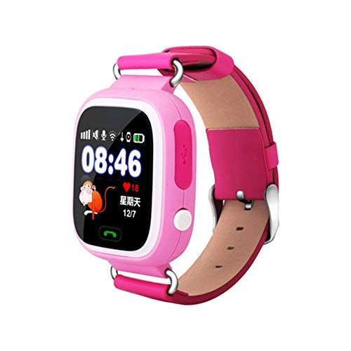 DBCSD Watches Q90 1.22 inch IPS Color Touch Screen Lovely Children Smartwatch GPS Tracking WiFi Watch, Support SIM Card,Positioning Mode, Voice Call, Pedometer, Alarm Clock,Sleep Monitoring,SOS EME