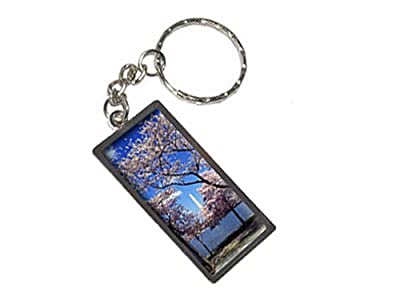Graphics and More Cherry Blossoms In Washington DC Keychain Ring (K1762)