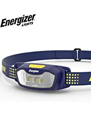 Energizer LED Headlamp Flashlight - Comfort Fit - Running, Camping, and Outdoor Headlamps - Best Head Lamp for Adults and Kids, Batteries Included